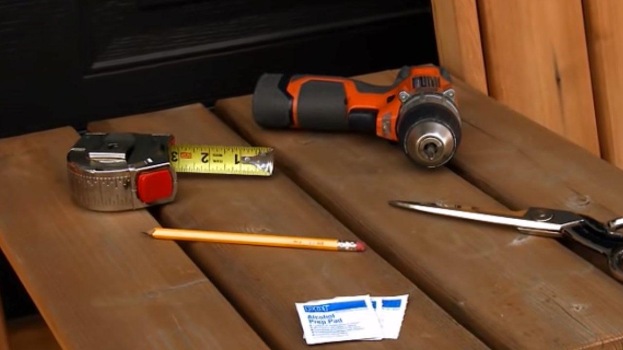 RV Skirting DIY Installation Tools